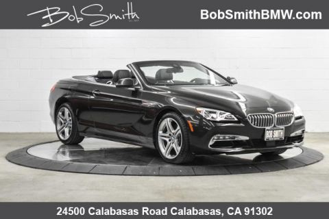 Certified Pre-Owned 2018 BMW 6 Series 650i xDrive Convertible