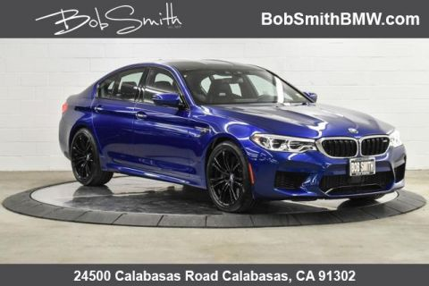 Pre-Owned 2018 BMW M5 Sedan