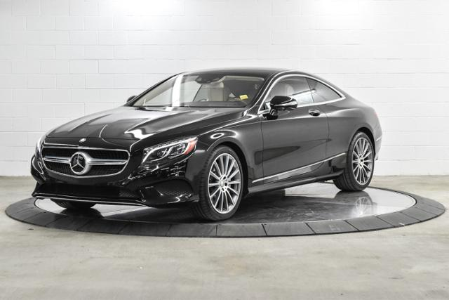 Pre Owned 2017 Mercedes Benz S Cl 2dr Cpe 550 4matic