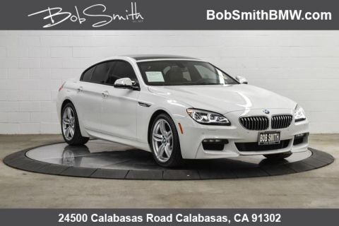 Certified Pre-Owned 2016 BMW 6 Series 4dr Sdn 640i RWD Gran Coupe