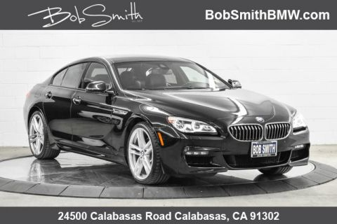 Certified Pre-Owned 2017 BMW 6 Series 640i xDrive Gran Coupe AWD