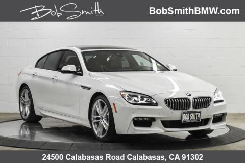 2016 BMW 6 Series 4dr Sdn 650i RWD Gran Coupe