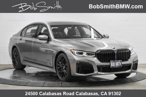 New 2020 BMW 7 Series 740i Sedan With Navigation