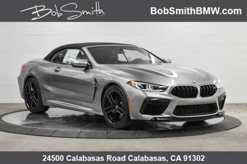 New 2020 BMW M8 Convertible With Navigation & AWD